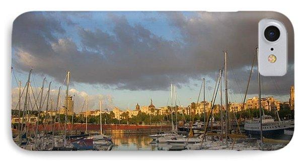 Barcelona Sunrise IPhone Case
