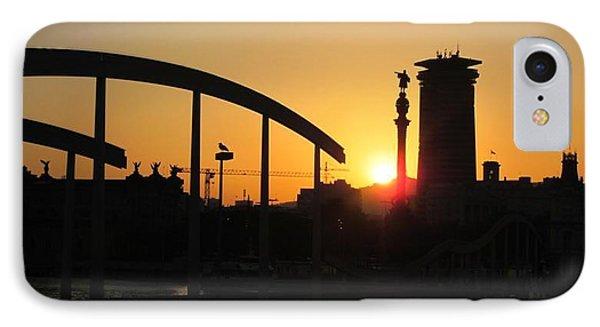 Barcelona Sunset IPhone Case