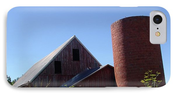 Barn And Silo 2123 IPhone Case