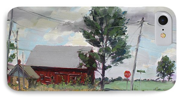 Barn By Lockport Rd IPhone Case