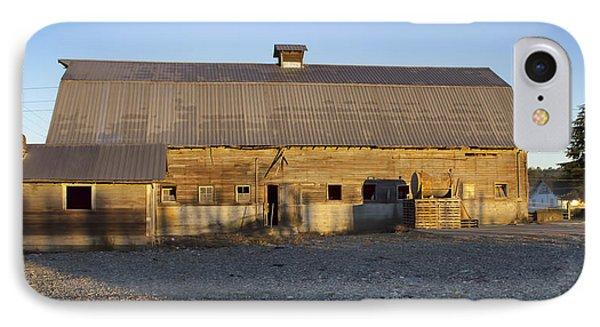 Barn In Rural Washington IPhone Case