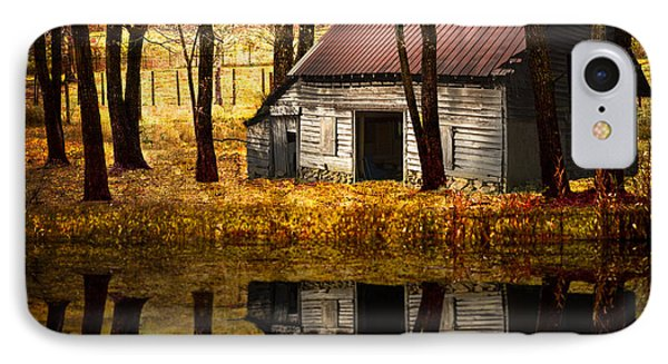 Barn In The Woods IPhone Case