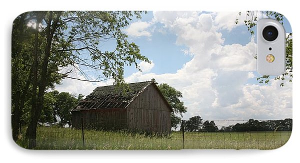 Barn Near Centralia Missouri IPhone Case