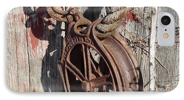 Barn Pulley IPhone Case