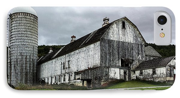 Barn With Silo IPhone Case