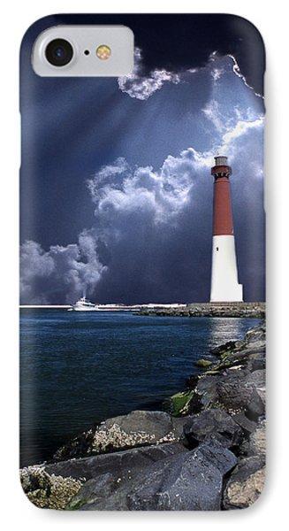Barnegat Inlet Lighthouse Nj IPhone Case