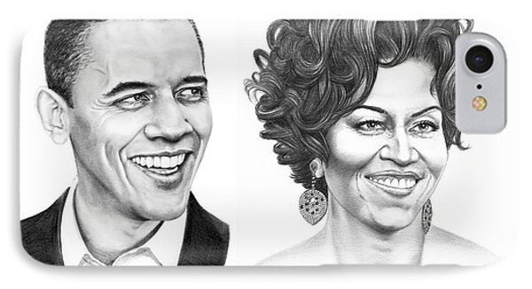 Barrack And Michelle Obama IPhone Case