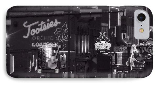 Bars On Broadway Nashville IPhone Case