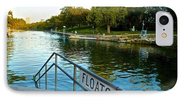 Barton Springs Pool In Austin Texas IPhone Case