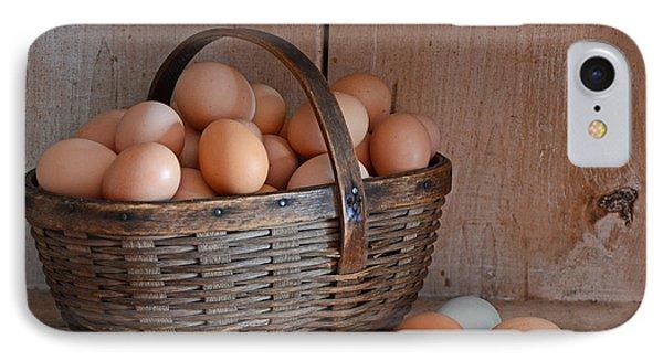 Basket Full Of Eggs IPhone Case