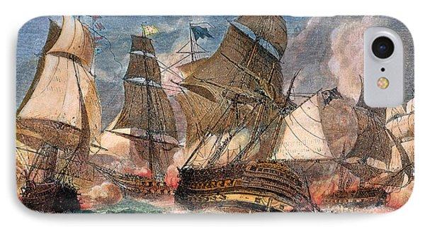 Battle Of Virginia Capes IPhone Case