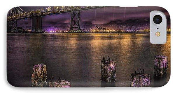 Bay Bridge Lights IPhone Case