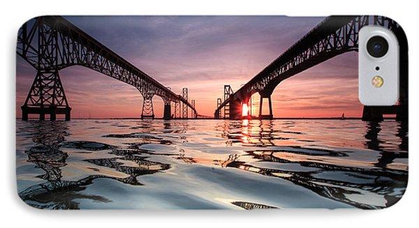 Bay Bridge Reflections IPhone Case