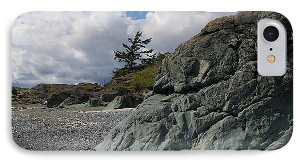 Beach At Fort Rodd Hill IPhone Case