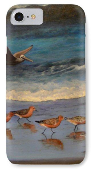 Beach Birds IPhone Case
