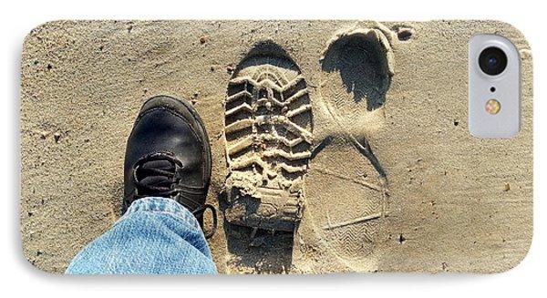 Beach Of Big Feet IPhone Case