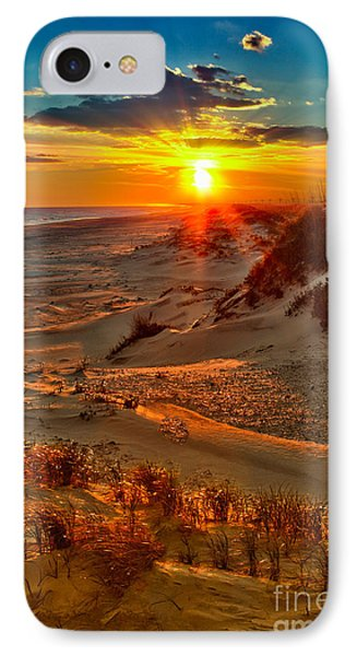 Beach On Fire - Outer Banks IPhone Case