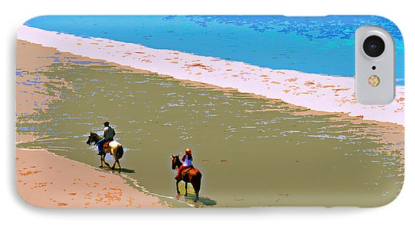 Beach Riders IPhone Case