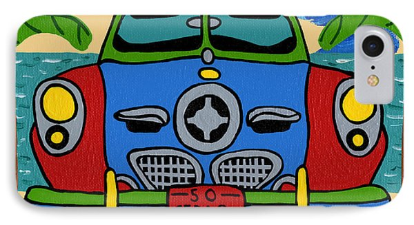 Beach Studebaker IPhone Case