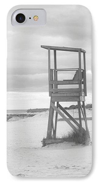 Beach Throne Harwich Ma Bw I IPhone Case