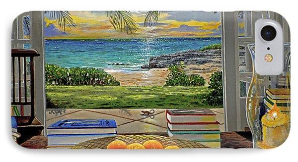 Beach View IPhone Case