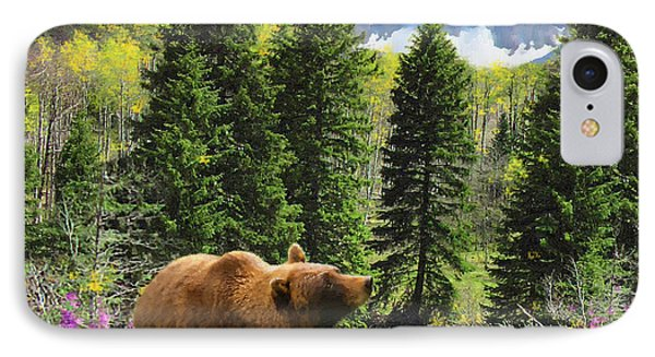 Bear Necessities Ill IPhone Case