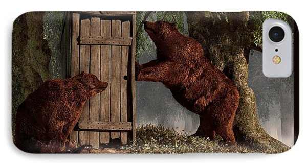 Bears Around The Outhouse IPhone Case