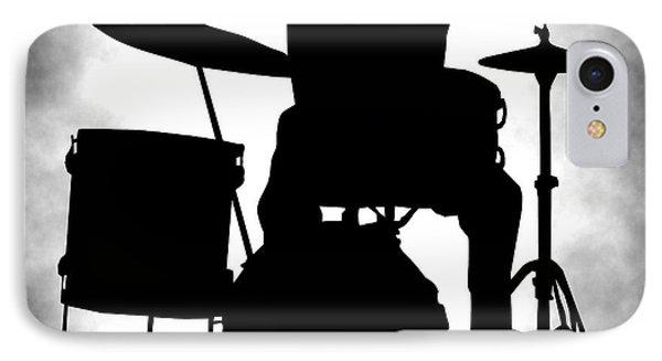 Drum iPhone 8 Case - Beat Master by Daniel Hagerman
