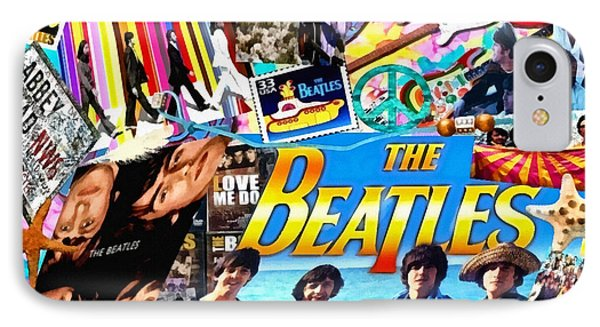Beatles For Summer IPhone Case