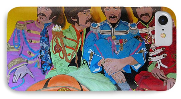 Beatles-lonely Hearts Club Band IPhone Case