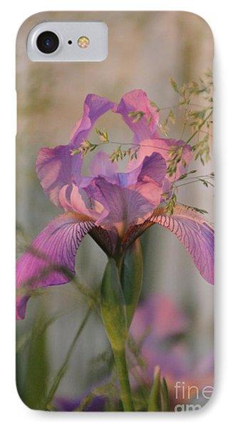 Beautiful And Mystical Iris  IPhone Case