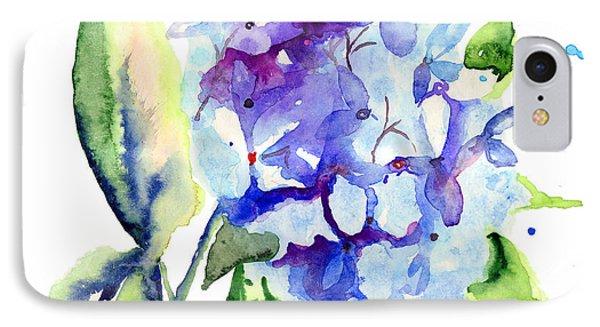 Beautiful Blue Flowers IPhone Case