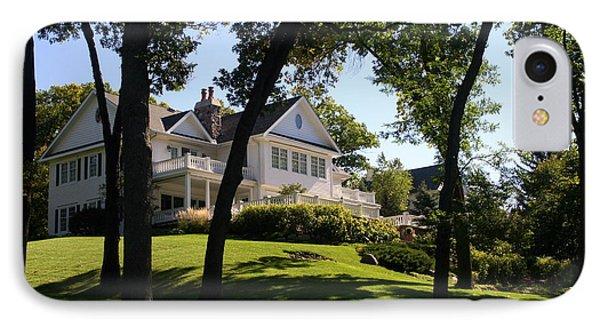 Beautiful Hillside Home IPhone Case