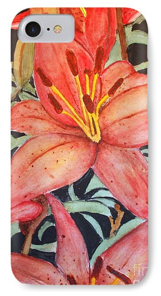Beautiful Lilies IPhone Case