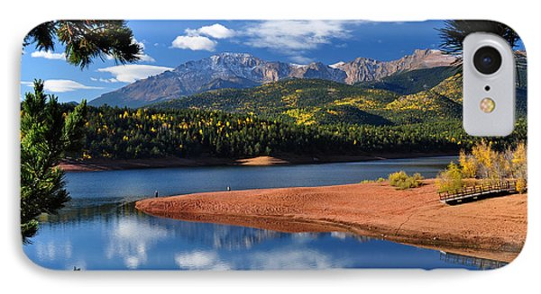 Beautiful Pikes Peak At Crystal  IPhone Case