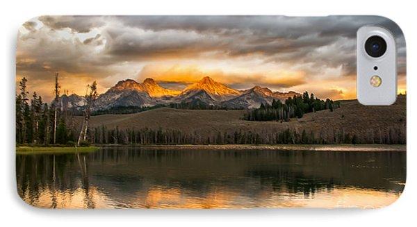 Beautiful Sunrise On Little Redfish Lake IPhone Case