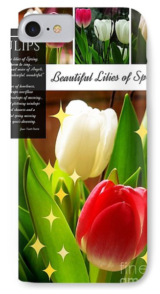 Beautiful Tulip Series 1 IPhone Case