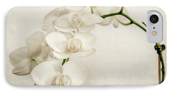 Beautiful White Orchid II IPhone Case