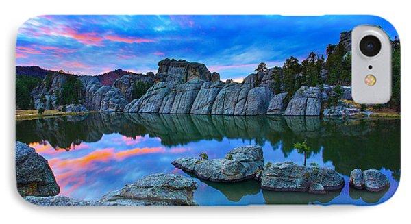 Mountain iPhone 8 Case - Beauty After Dark by Kadek Susanto