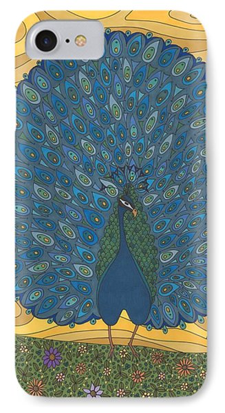 Beauty In Blue And Green IPhone Case