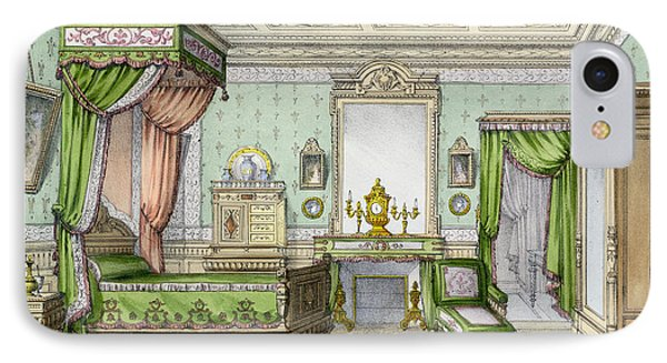 Bedroom In The Renaissance Style IPhone Case