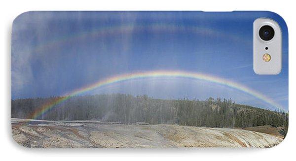 Beehive's Double  Rainbow IPhone Case