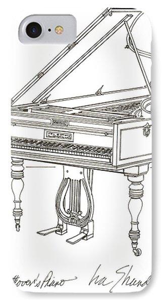 Beethoven's Broadwood Grand  Piano IPhone Case