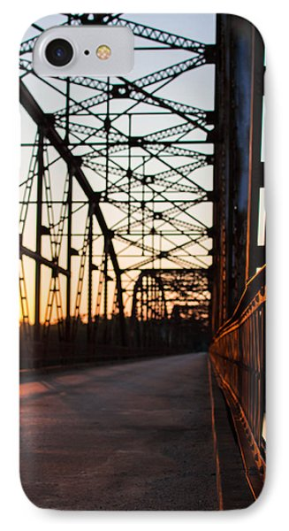 Belford Bridge At Sunset IPhone Case