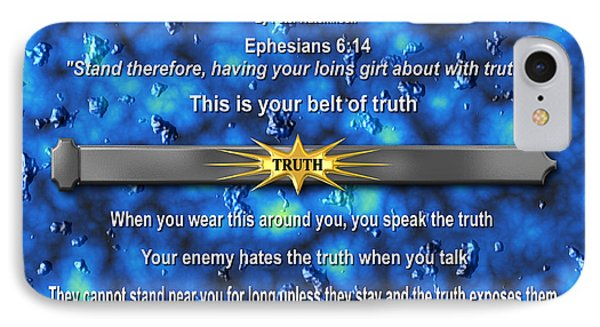 Belt Of Truth IPhone Case