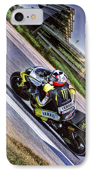 Ben Spies At Indy IPhone Case