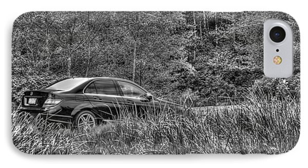 Benz Stalking Its Prey IPhone Case