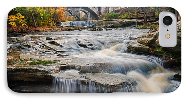 Berea Waterfalls In Autumn IPhone Case