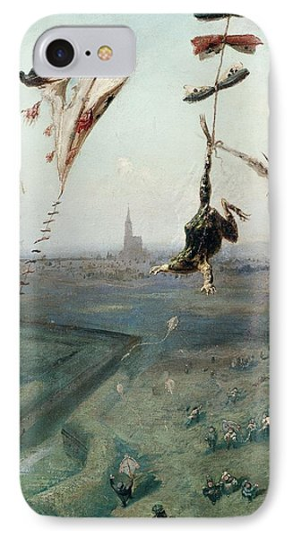 Between Heaven And Earth, 1862 Oil On Canvas IPhone Case