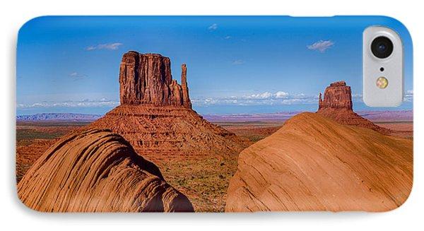 Between The Rocks IPhone Case